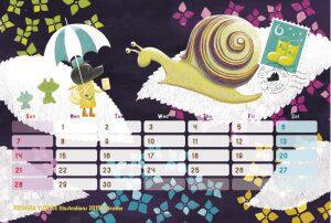 2015 オリジナルカレンダー 6月