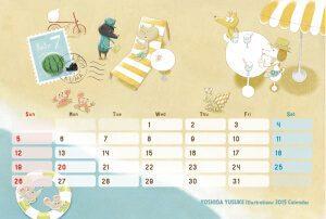 2015 オリジナルカレンダー 7月