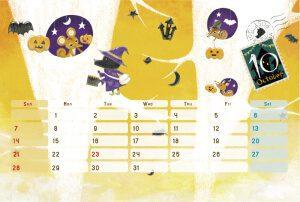 2015 オリジナルカレンダー10月