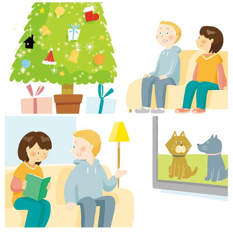 くらしに役立つ英語 クリスマス